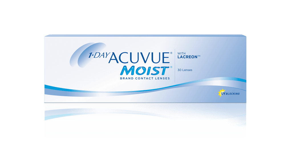 Lentillas Diarias 1-DAY ACUVUE® MOIST