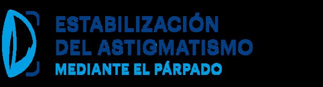 ESTABILIZACIÓN DEL ASTIGMATISMO MEDIANTE EL PARPADO