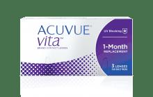 Lentillas Mensuales ACUVUE® VITATM con tecnología HydraMax™