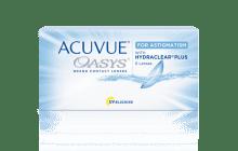 Lentillas Quincenales ACUVUE® OASYS para ASTIGMATISMO con tecnología HYDRACLEAR® PLUS.