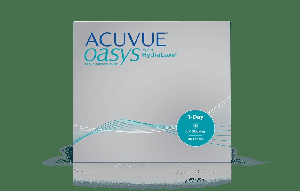 Lentillas Diarias ACUVUE® OASYS 1-Day con tecnología HydraLuxe™
