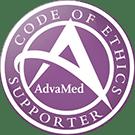 AdvaMed Code of Ethics Supporter